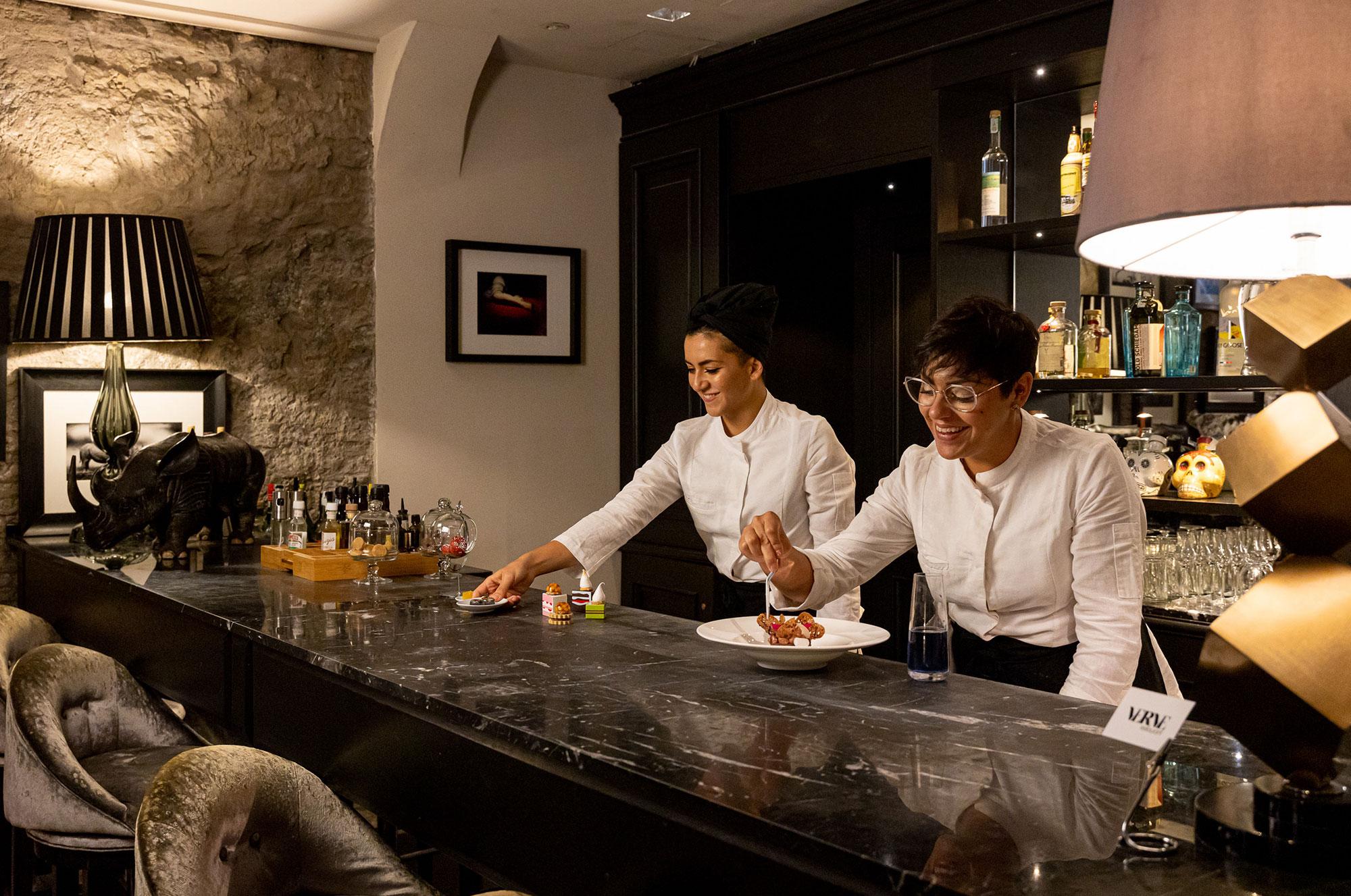Pasticceria Live verve restaurant Roma Antonella Mascolo